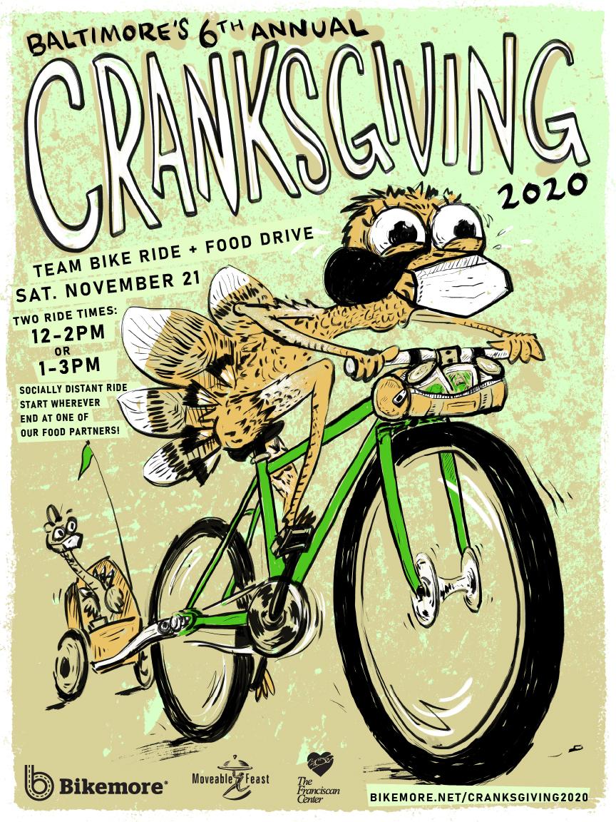 Cranksgiving 2020 Poster
